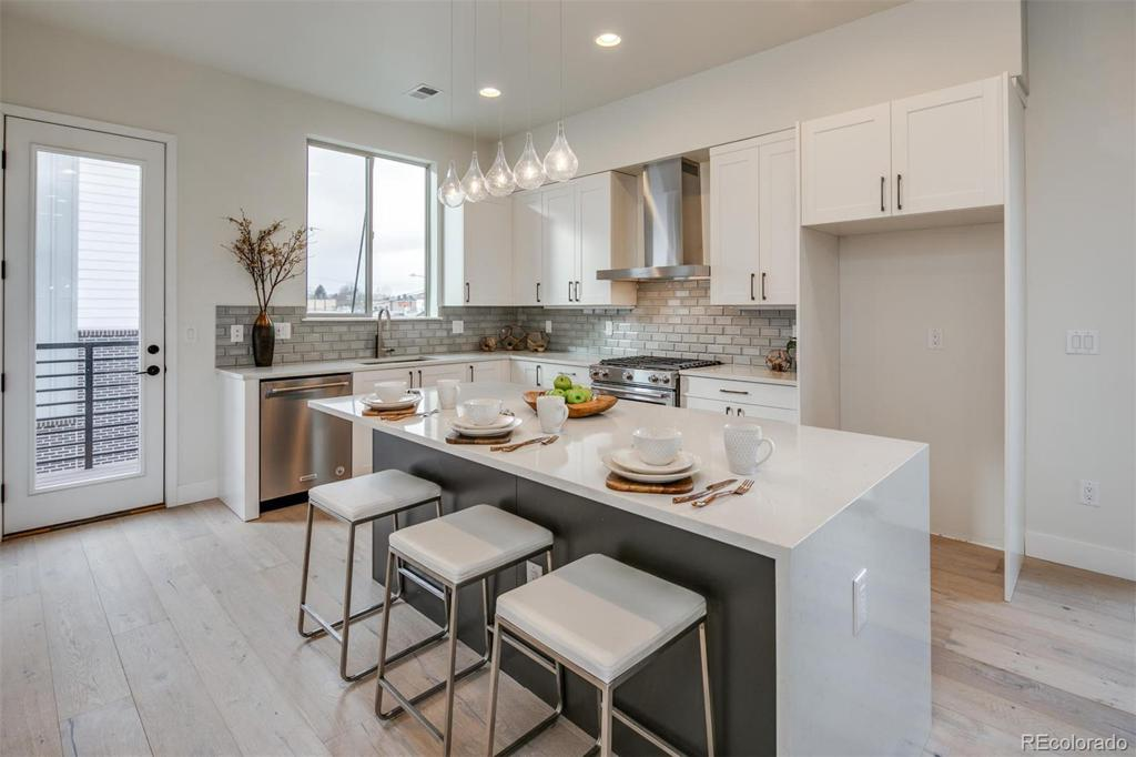 Photo of home for sale at 4100 Iliff Avenue E, Denver CO