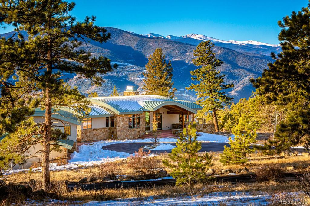 Photo of home for sale at 3965 Douglas Mountain Drive, Golden CO