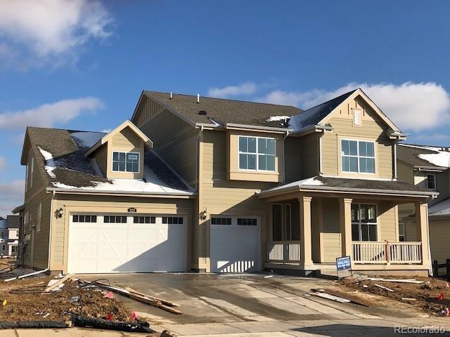 Photo of home for sale at 923 Gilpin Circle, Erie CO
