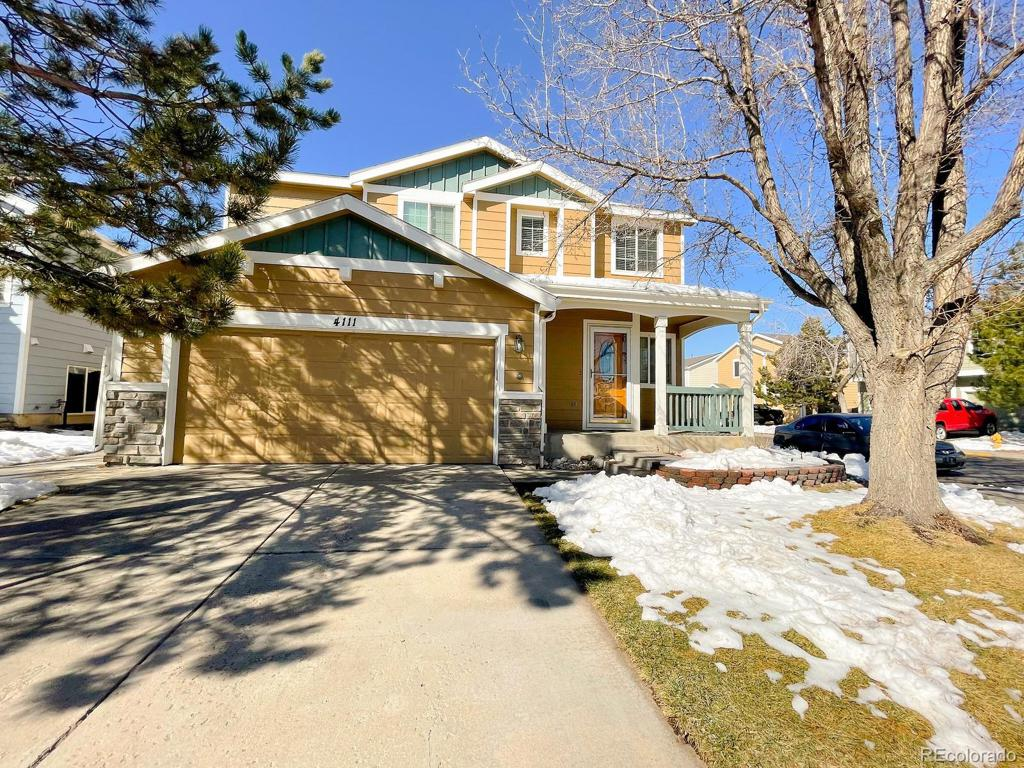 Photo of home for sale at 4111 Kenyon Street W, Denver CO
