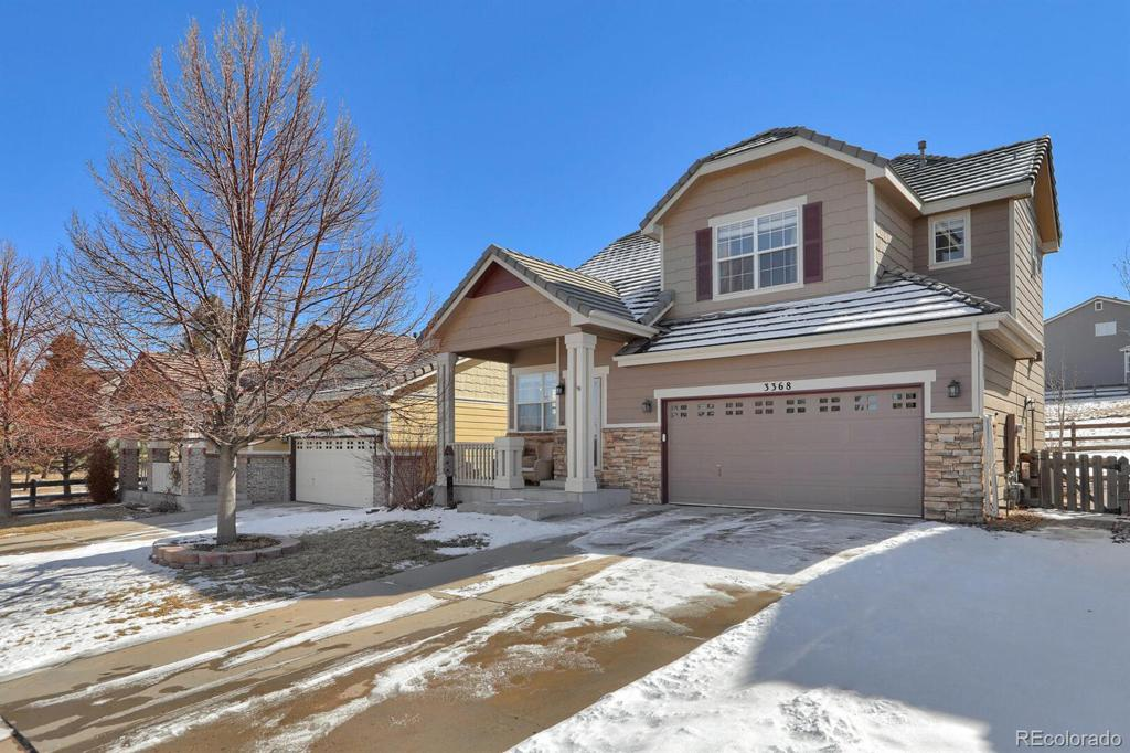 Photo of home for sale at 3368 Brushwood Drive, Castle Rock CO