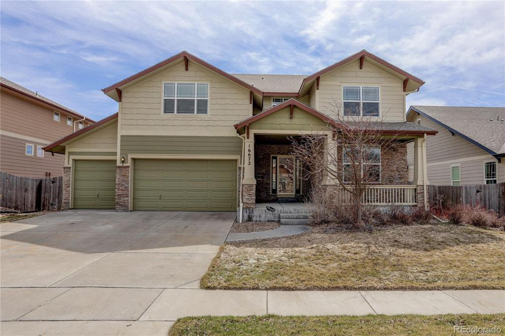 Photo of home for sale at 16672 101st Avenue E, Commerce City CO