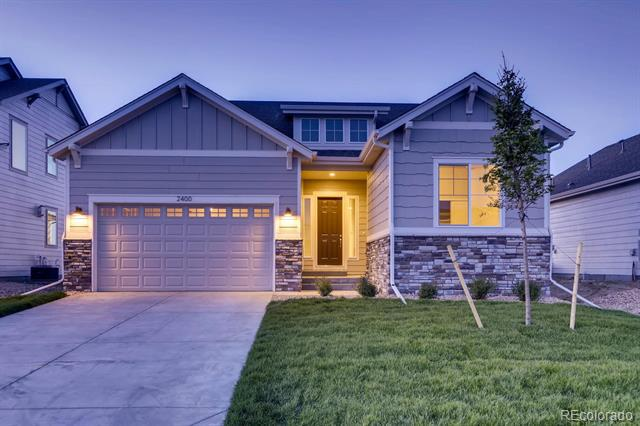 Photo of home for sale at 2400 Flagstaff Drive, Longmont CO