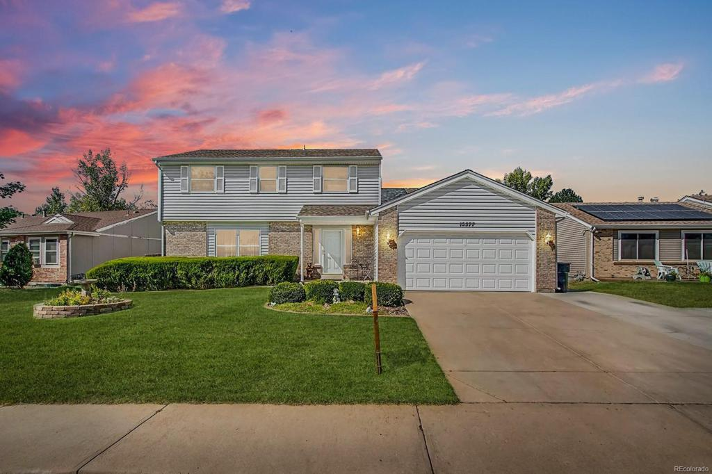 Photo of home for sale at 12577 Bellaire Street, Thornton CO