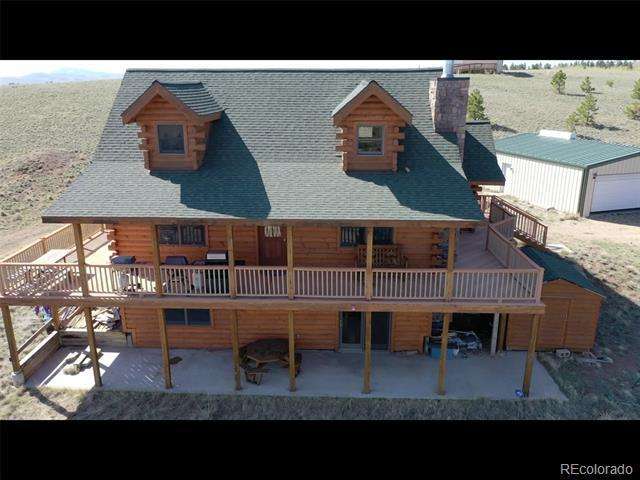 Photo of home for sale at 10219 Ranch Road, Hartsel CO