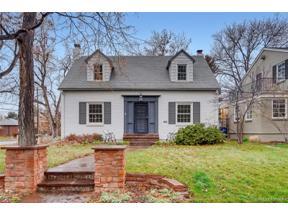 Property for sale at 1601 Leyden Street, Denver,  Colorado 80220