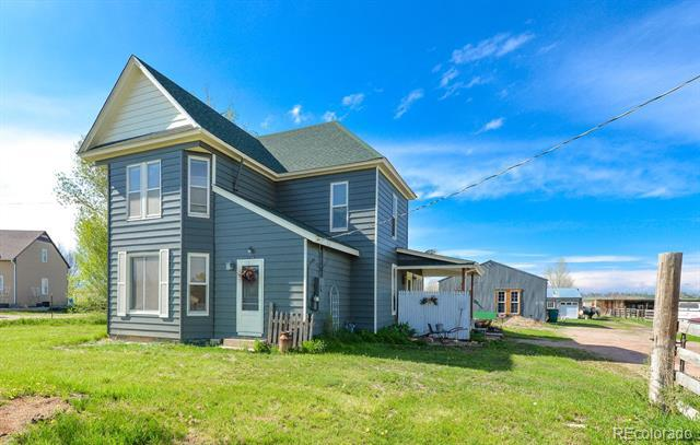 Photo of home for sale at 716 County Road 8 E, Berthoud CO