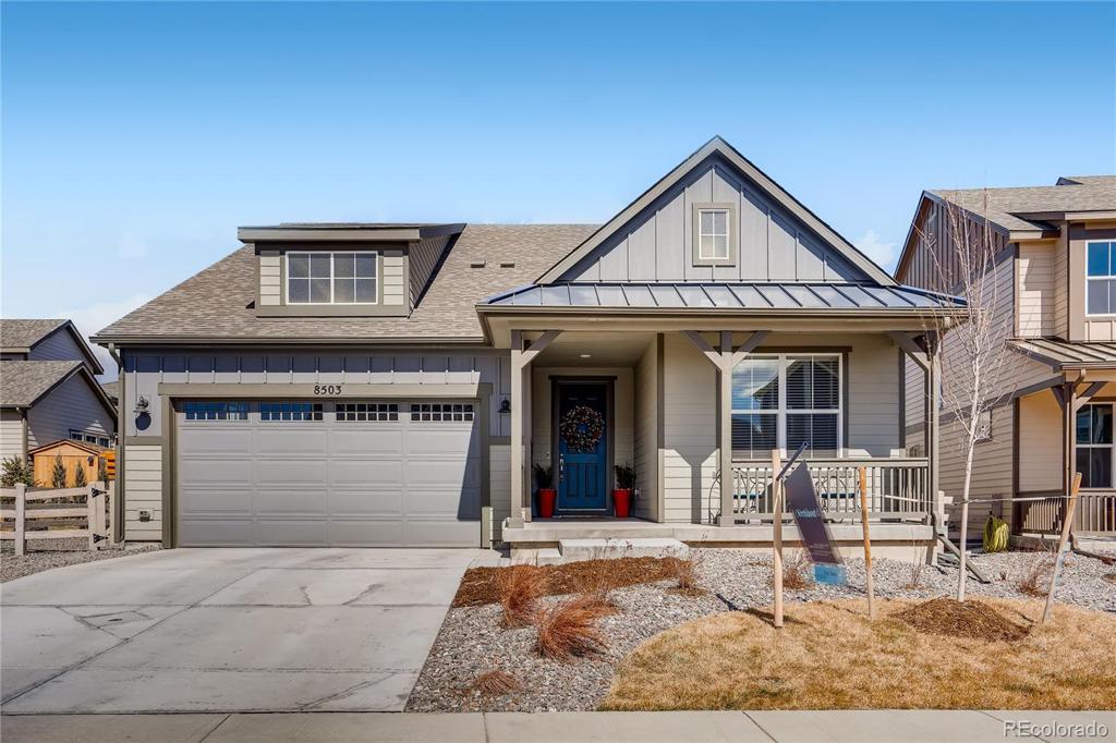 Photo of home for sale at 8503 Estes Park Avenue, Littleton CO