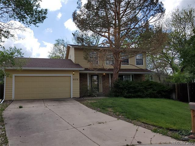 Photo of home for sale at 5173 Uravan Street South, Centennial CO