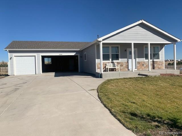 Photo of home for sale at 1494 4th Avenue, Deer Trail CO