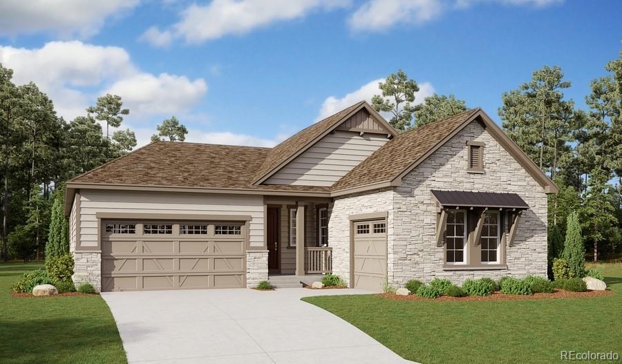 Photo of home for sale at 9170 Basalt Lane, Littleton CO