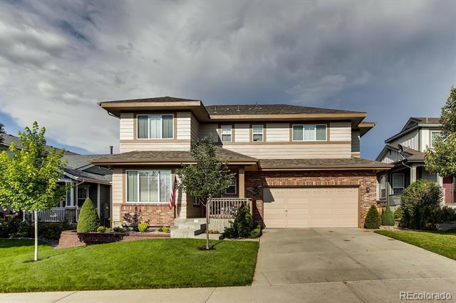 Photo of home for sale at 3178 Willowrun Drive, Castle Rock CO