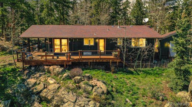 Photo of home for sale at 3254 Ridge Road, Nederland CO