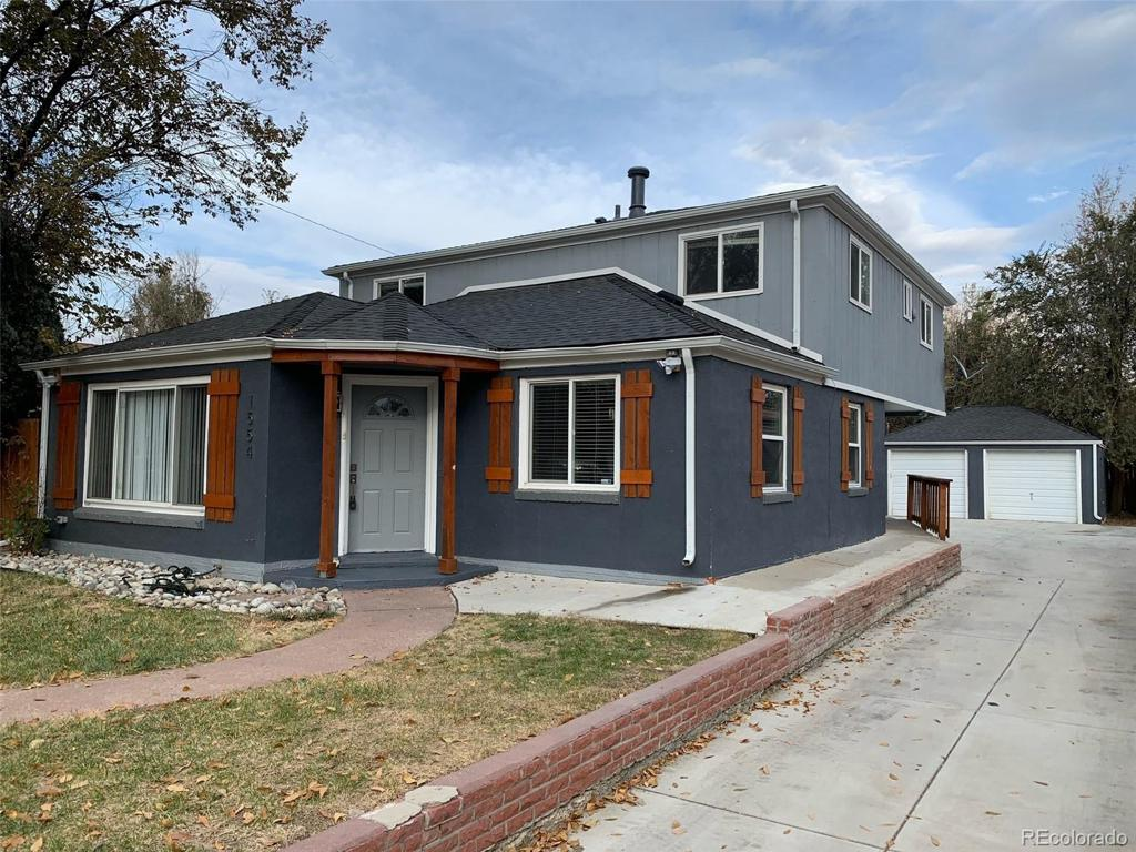 Photo of home for sale at 1554 Xanthia Street, Denver CO