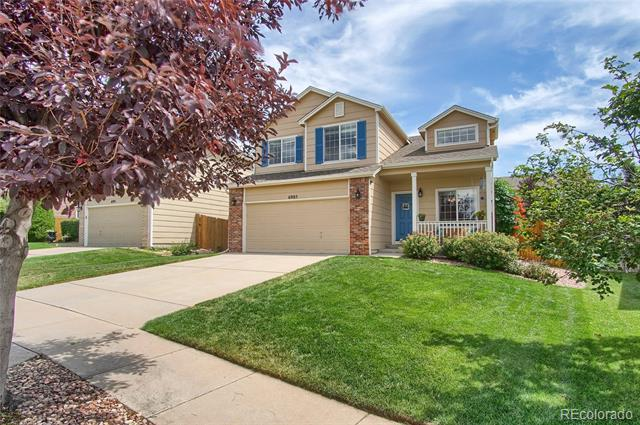 Photo of home for sale at 6985 Cabriolet Drive, Colorado Springs CO