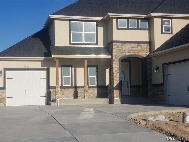 Photo of home for sale at 3981 Roper Trail, Fort Collins CO