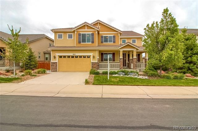 Photo of home for sale at 6544 Lynch Lane, Castle Rock CO