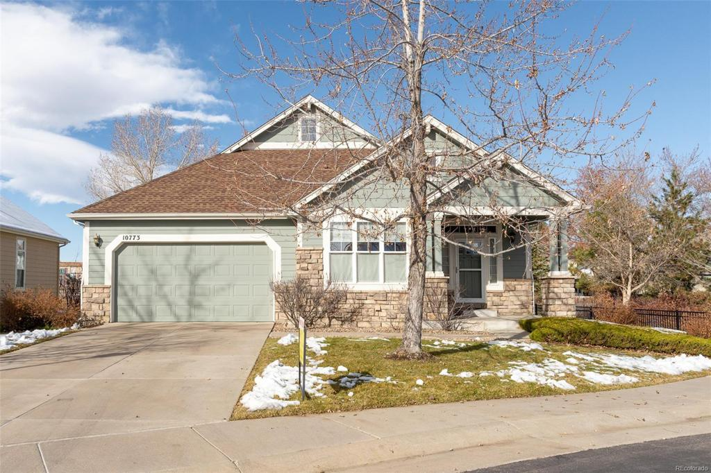 Photo of home for sale at 10773 Hinsdale Drive W, Littleton CO