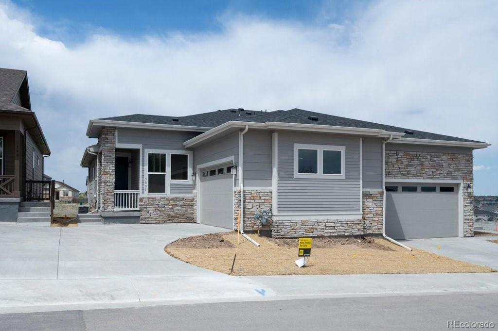 Photo of home for sale at 3897 Happy Hollow Drive, Castle Rock CO