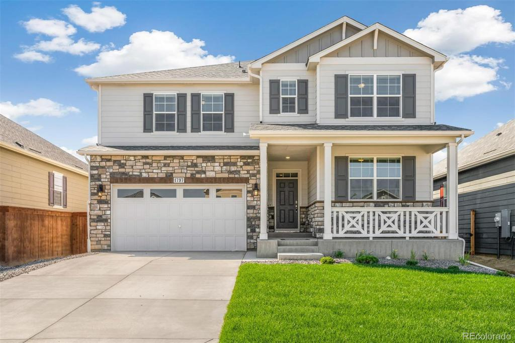 Photo of home for sale at 1715 Summer Bloom Drive, Windsor CO