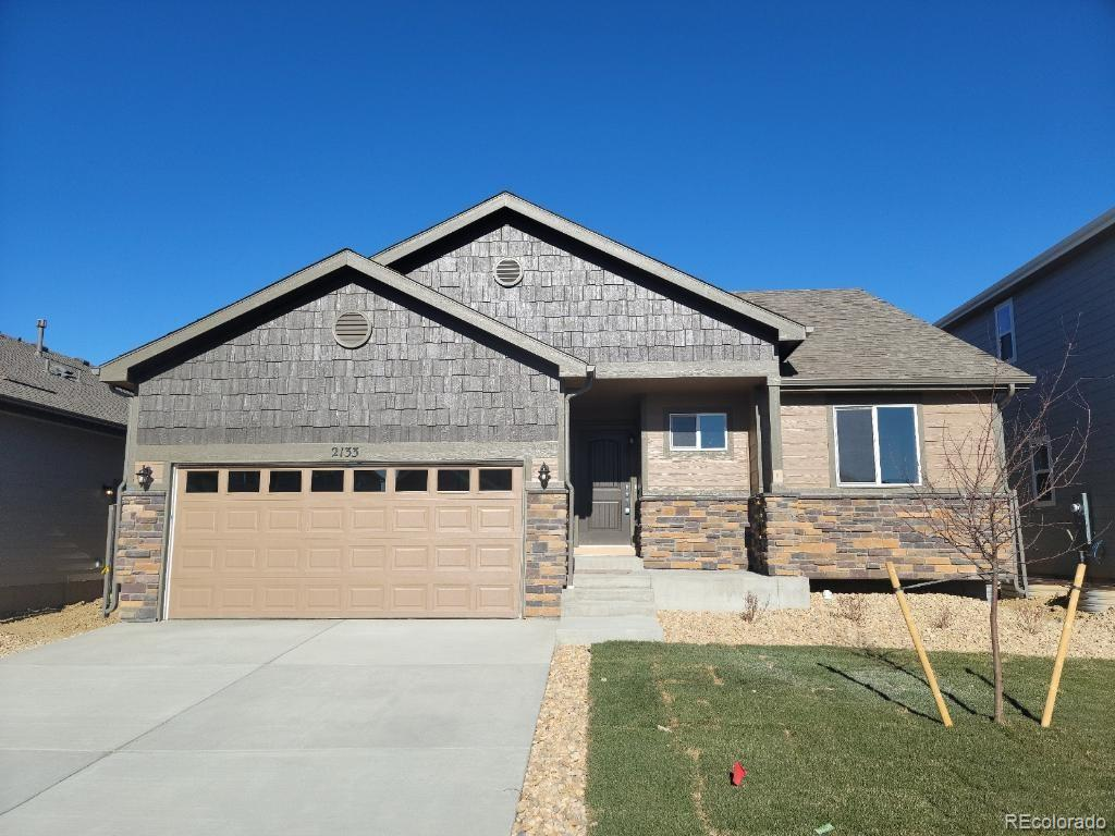 Photo of home for sale at 2133 Chianina Street, Mead CO