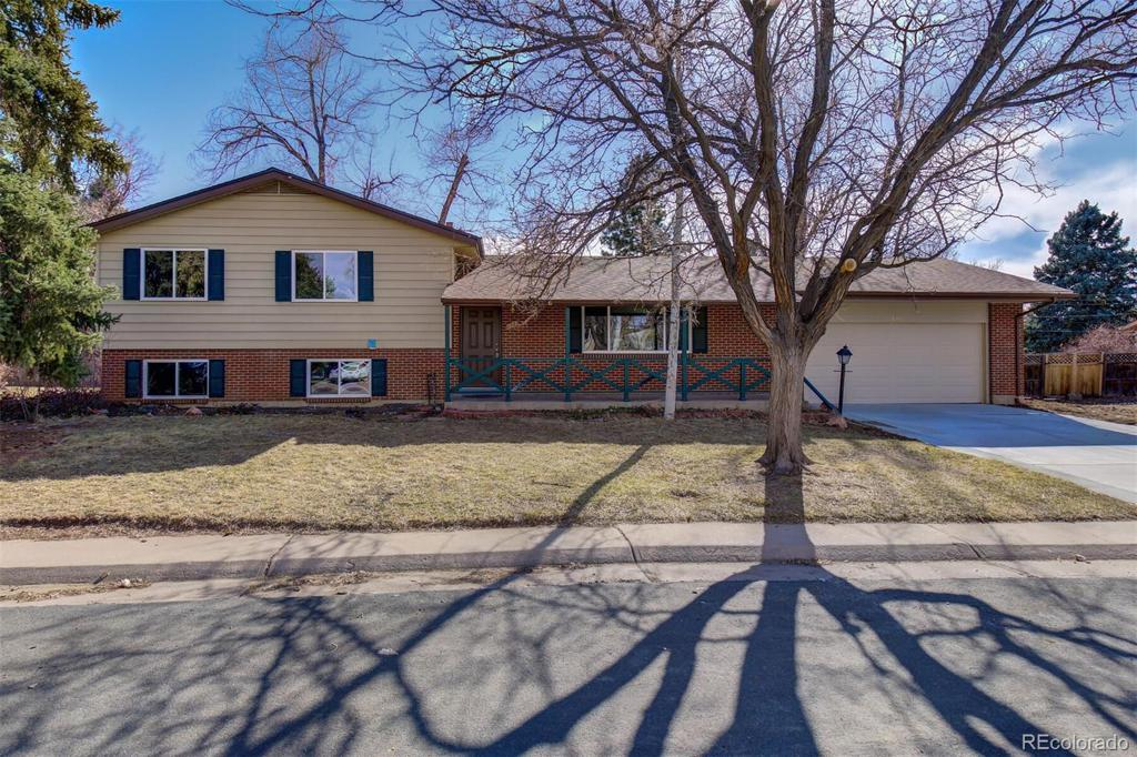Photo of home for sale at 6367 Lafayette Place S, Centennial CO