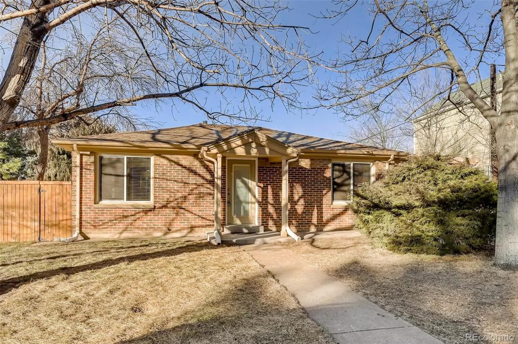 Photo of home for sale at 2627 Osceola Street, Denver CO
