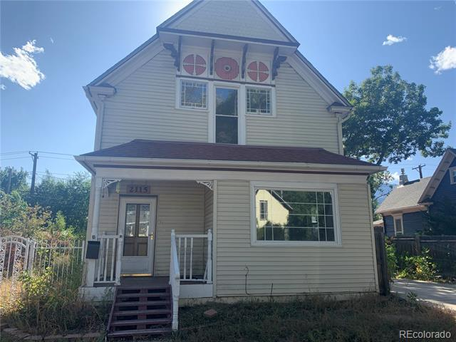Photo of home for sale at 2115 Pikes Peak Avenue W, Colorado Springs CO
