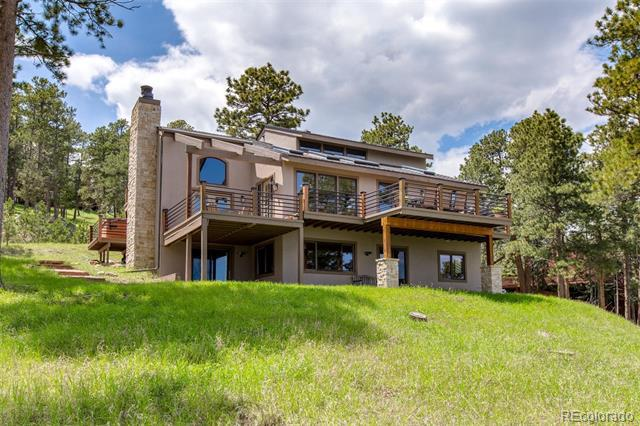 Photo of home for sale at 1184 Snowberry Drive, Golden CO