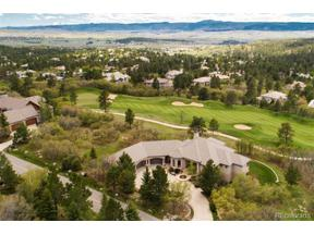 Property for sale at 1038 Country Club Estates Drive, Castle Rock,  Colorado 80108