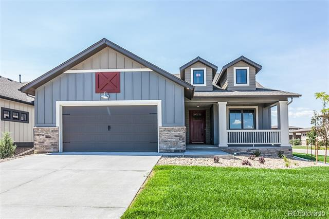 Photo of home for sale at 6965 Foxton Court, Timnath CO