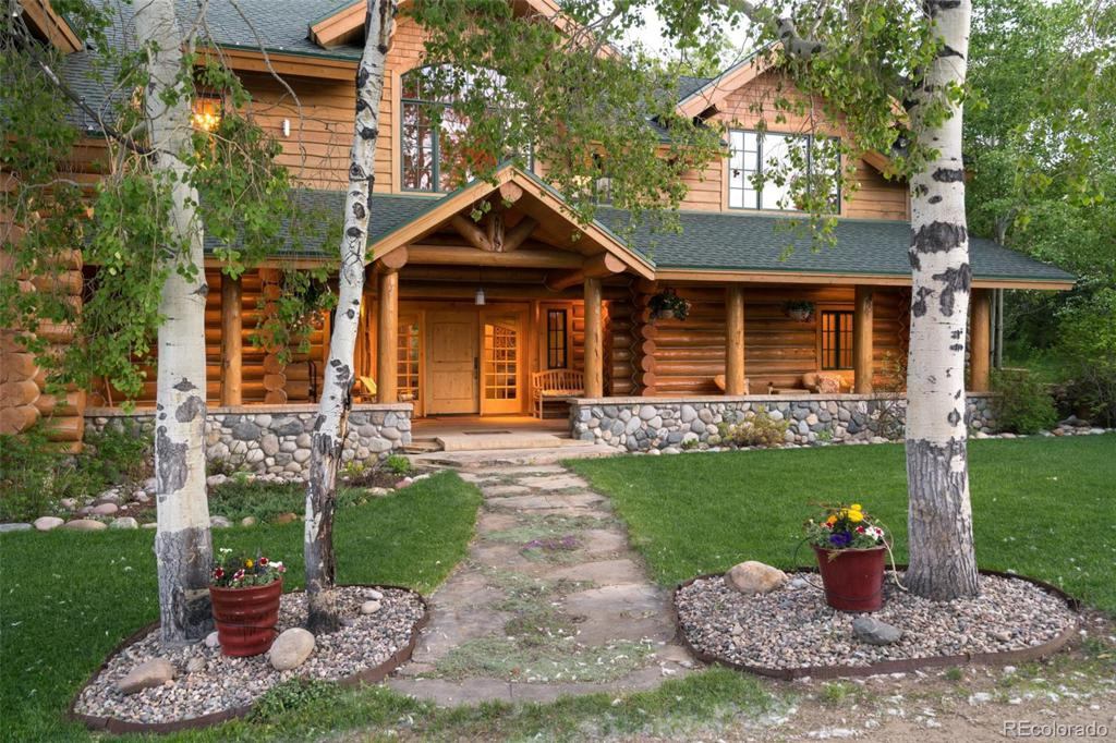 Photo of home for sale at 44655 Diamondback Way, Steamboat Springs CO
