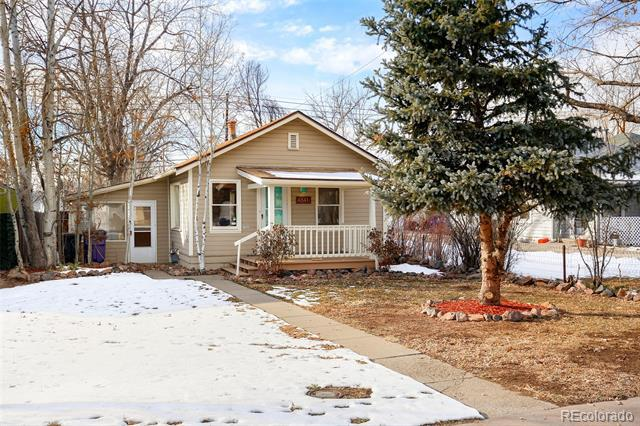 Photo of home for sale at 4841 Benton Street, Denver CO