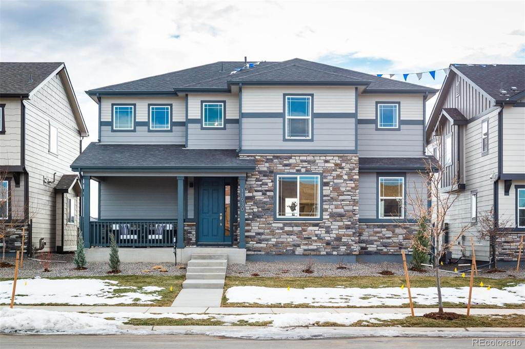 Photo of home for sale at 11933 Norfolk Court, Commerce City CO