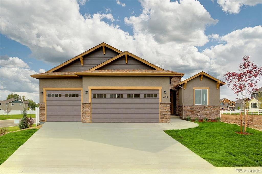 Photo of home for sale at 681 Boxwood Drive, Windsor CO