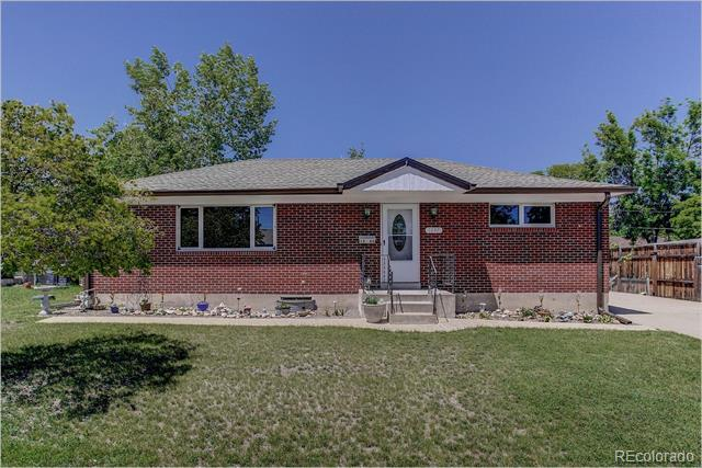 Photo of home for sale at 1263 108th Avenue E, Northglenn CO
