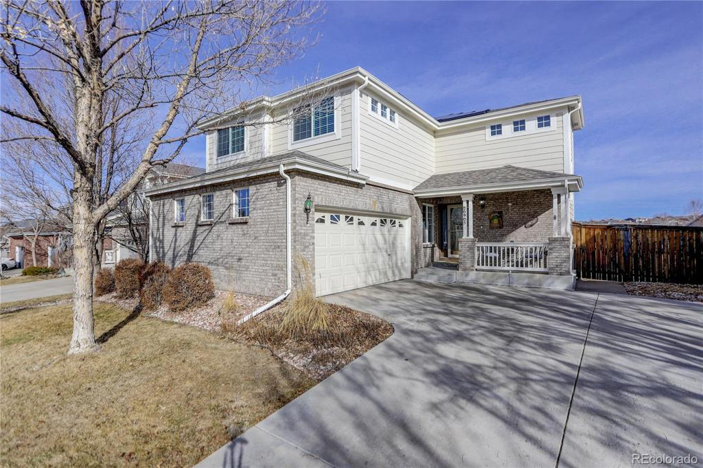 Photo of home for sale at 20903 Girard Drive E, Aurora CO