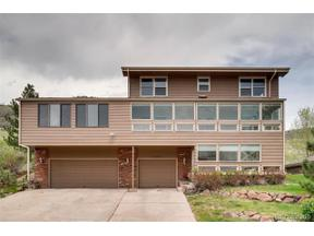 Property for sale at 17313 Rimrock Drive, Golden,  Colorado 80401