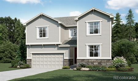 Photo of home for sale at 3571 White Rose Loop, Castle Rock CO