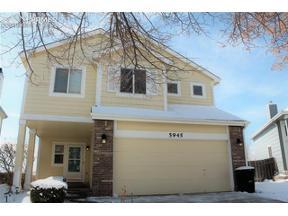 Property for sale at 5945 Faxon Court, Colorado Springs,  Colorado 80922