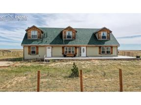 Property for sale at 755 Edison Road, Yoder,  Colorado 80864