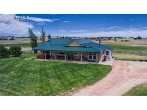 Property for sale at Peyton,  Colorado 80831