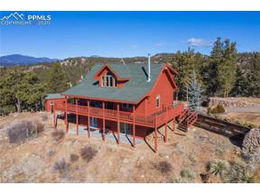 Property for sale at 154 Peak View Circle, Florissant,  Colorado 80816