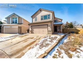 Property for sale at 6125 Katy Court, Colorado Springs,  Colorado 80922