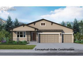 Property for sale at 10363 Mount Rosa Lane, Colorado Springs,  Colorado 80924