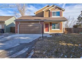 Property for sale at 4825 Halter Drive, Colorado Springs,  Colorado 80922