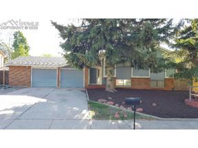 Property for sale at 4907 Hackamore Drive, Colorado Springs,  Colorado 80918