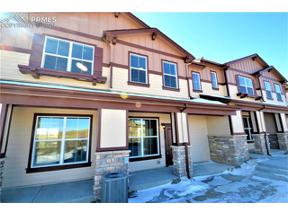 Property for sale at 5554 Stetson Hills Boulevard, Colorado Springs,  Colorado 80917