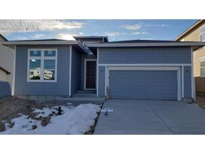 Property for sale at 10262 Ravenclaw Drive, Colorado Springs,  Colorado 80924