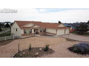 Property for sale at 11250 Cranston Drive, Peyton,  Colorado 80831